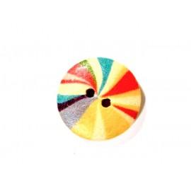 Bouton multicolore