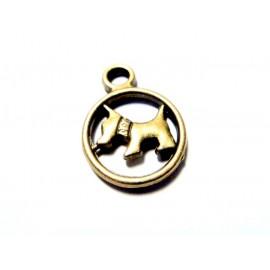 Médaillon chien