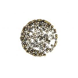 Perles à écraser 2.5mm, à la cuillère