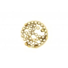 Perles à écraser 4mm, à la cuillère