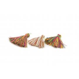 Franges multicolores