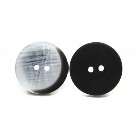 Bouton gris et noir