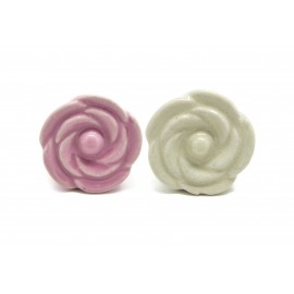 Poignée bouton de rose