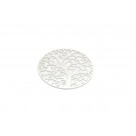 Plaque perforée branches, 35mm