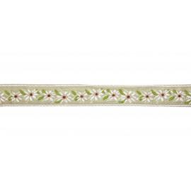 Ruban Edelweiss, par 50 cm