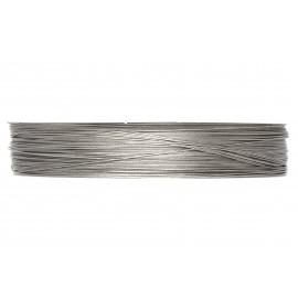 Fil métallique, bobine de 100m