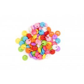 Rocaille pastilles multicolores, à la cuillère