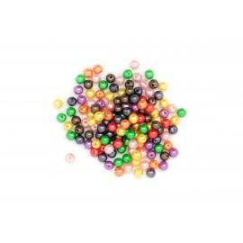 Rocaille boules multicolores, à la cuillère