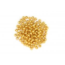 Rocaille boule dorée, à la cuillère