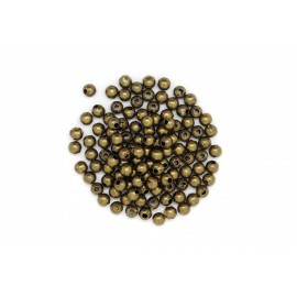 Rocaille boule bronze, à la cuillère