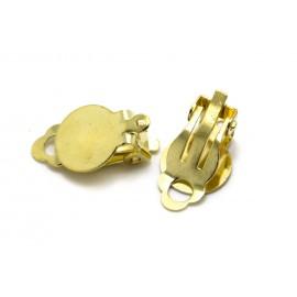 Clip simple et anneau, par paire