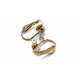 Clip pince boule et anneau, par paire