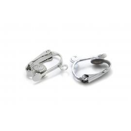 Clip à coller et anneau, par paire
